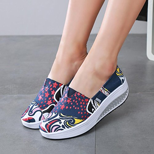 Shoes 38 Flat A Size Shoes Shoes Shake amp; Loafers Color Driving Shaking Women's Sneakers Shoes Fall Athletic Spring Slip Shoes Canvas A Shoes Fitness XUE Shoes Loafers Shake Platform Ons fUF5wnO