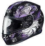 HJC CL-17 Cosmos - Womens' Full-Face Street Motorcycle Helmet - Purple - Small