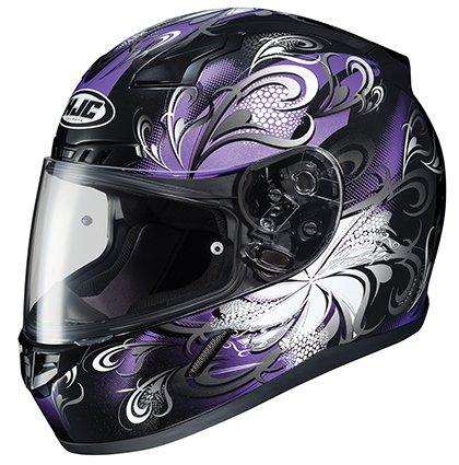 HJC CL-17 Cosmos - Womens' Full-Face Street Motorcycle Helmet - Purple - (Ladies Hjc Motorcycle)