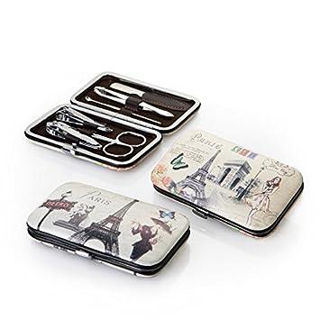 Set de manicura Vintage - Pack de 6 unidades.: Amazon.es: Hogar