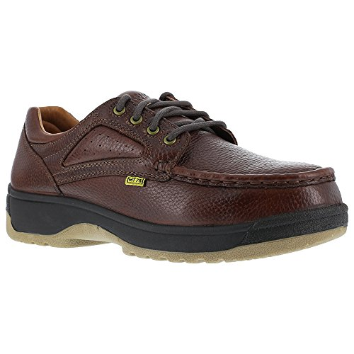 Florsheim Oxfords Compadre Guard Womens Steel Toe Dark Brown Brown Met Leather rCnqrXw7