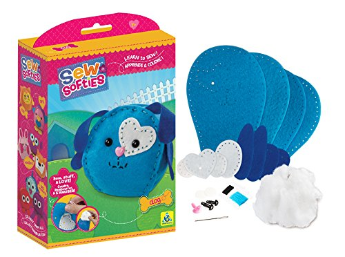 The Orb Factory Sew Softies Dog Building (Factory Building Kit)