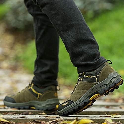 ハイキングキャンプクロスカントリーランニングシューズをハイキング軽量ノンスリップアウトドアスポーツシューズメンズシューズをハイキング (Color : Gray, Size : 43)
