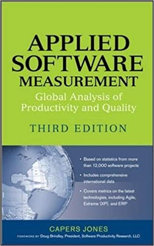 Applied Software Measurement: Global Analysis Of Productivity And Quality Download