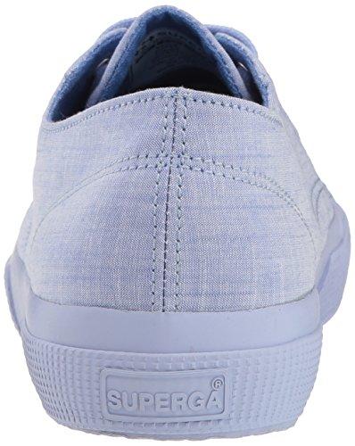 Superga Dames 2750 Cottonmelangeu Sneaker Blauw