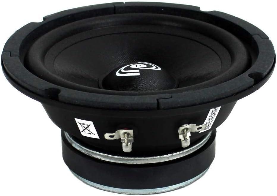 Pyle PDMR6 6.5 600W Car Mid Bass MidRange Woofer Audio Speakers 8 Ohm Black 2