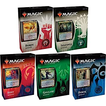 Magic The Gathering Guilds of Ravnica 1 Guild Kit- Selección aleatoria - Espanol - Random Selection - Spanish