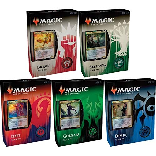 Magic: the Gathering MTG Guilds of Ravnica Guild Kit All 5 Decks from MTG - Guild Kits