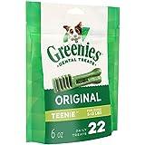 Greenies Original TEENIE Dental Dog Treats, 6 oz. Pack (22 Treats)