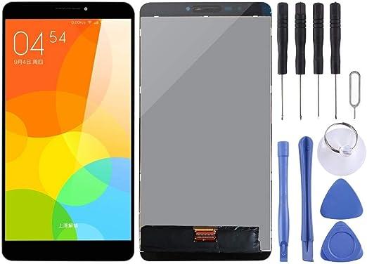 修理用アクセサリー レノボタブ3プラスTB-7703X TB-7703 ZA1K0070RU用 LCDスクリーンとデジタイザフルアセンブリ(ブラック) 交換部品 (Color : Black)