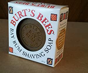 Burt's Bees - Bay Rum Shaving Soap(Disc), 3 oz bar
