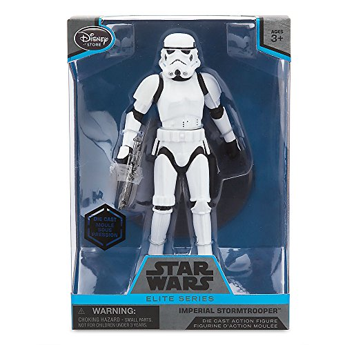 [Star Wars Imperial Stormtrooper Elite Series Die Cast Action Figure - 6 1/2 Inch - Rogue One: A Star Wars] (Stormtrooper Disney)