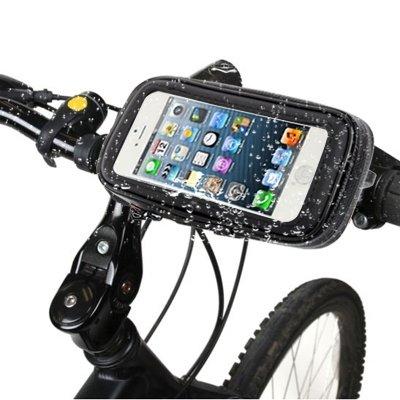 Mxnet Bike Mount & Waterproof / Sand-proof / Snow-proof / Schmutz-Beweis Tough Touch Case für iPhone 5 & 5s & SE, 5C, Touch 5 rutschsicher Telefon-Kasten
