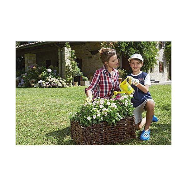 VERDEMAX 8015358022583 orto in salice-Giardinaggio contenitori da Raccolta, Unica 3 spesavip