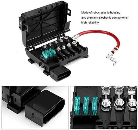 Boitier Fusible Boitier De Fusible Etanche Boitier Fusible Couverture de Protection /Étanche for le Bo/îtier de Fusible de Batterie BiuZi Car 5 Way For Mk4 99-04 1J0937550A Batterie Bo/îte /À Fusibles