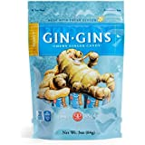 The Gin Gins Peanut Chewy Ginger Candy , 3-Ounce Bags (Pack of 24)