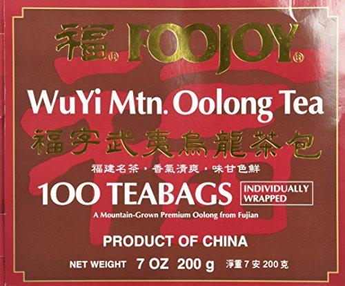 Wu Yi Oolong Tea Wulong Tea 100 Bags Foojoy by Wu Yi Oolong Tea (Image #6)