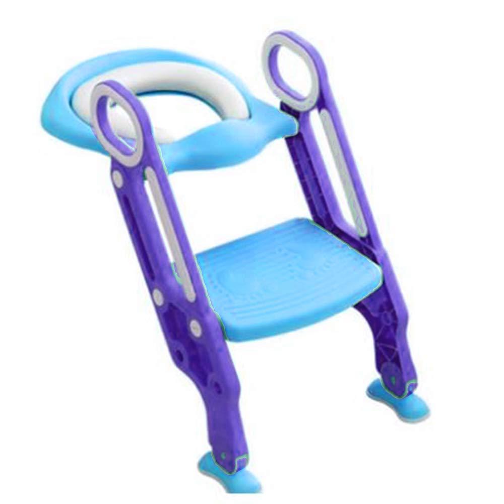 BALLSHOP Lernt/öpfchen Toilettentrainer mit Treppe Toilettensitz Kinder Baby WC-Sitz