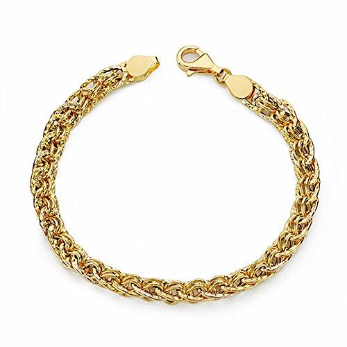 Bracelet 18k 19cm d'or. creux [AA1665]