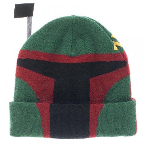Star Wars Boba Fett Cuff Beanie]()