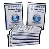Problem Solving DVD Training Pack (7 DVDs, 50 Lean Terms on PDF, 27 Lean Forms & Tools)