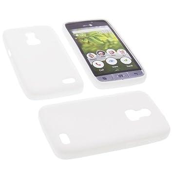 sale retailer 35592 f7ec4 Phone case for Doro 8030 Rubber TPU mobile protective cover white
