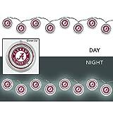 Team Sports America University of Alabama Outdoor Safe Battery Powered String Light Set