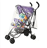 Waterproof Rain Cover Wind Dust Shield For Baby Strollers Pushchairs