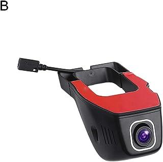 shwhiplash Caméra embarquée pour Tableau de Bord de Voiture V24 WiFi Caméra DVR HD Vision Nocturne Noir A