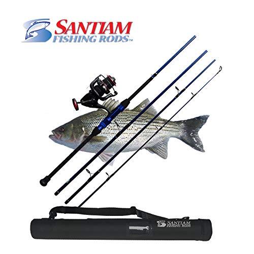 Santiam Fishing Rods Travel Rod 4 Piece 9'0