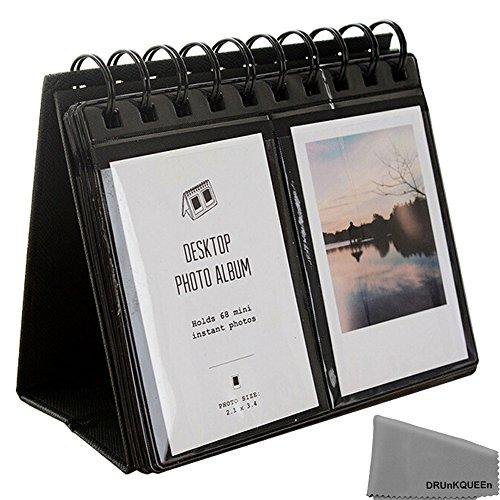 Fuji Instax Mini Photo Album - DRUnKQUEEn Mini Album For Instax Mini 8 70 7s 25 50s 90 Film / Pringo 231 Film / Fujifilm Instax SP 1 Film / Polaroid PIC-300P Film / Polaroid Z2300 Film (68 Photos)