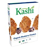 Kashi, Breakfast Cereal, Organic Blueberry Clusters, Non-GMO Project Verified, Bulk Size, 134 Ounces (Pack of 10, 13.4 oz Boxes) For Sale