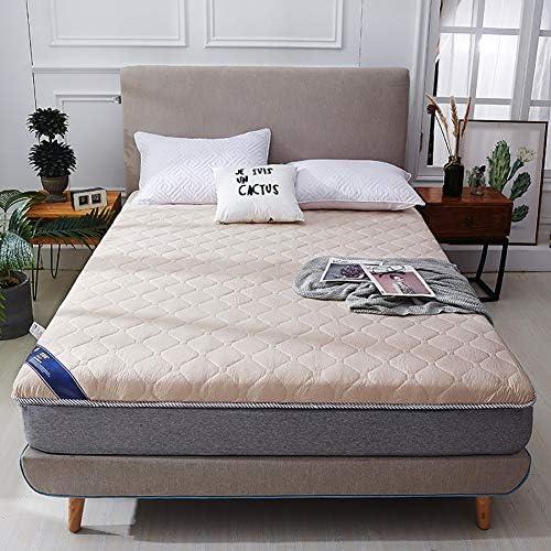 畳敷き マットレス プロテクター パッド 折りたためる ベッドのマット, とろみ 通気性 マットレストッパー 1 ツインサイズ パッドを睡眠 布団-C 120x200x5cm