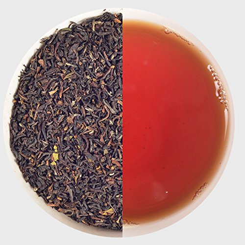 India Classic Black Loose leaf Darjeeling Tea Risheehat Estate STGFOP Grade Chai 50 to 500 Tea Cups With Great Taste in every Sip Handpicked from Fresh Garden Authentic Natural Flavor