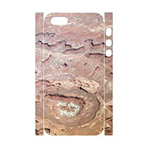 3D Aerial Photography of the Canyonlands National Park iphone 4s Cases Protective for Girls, Luxury Case for iphone 4s [White]