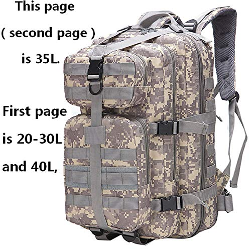 ALTBP Military Tactical Backpack Army 3 Day Assault Pack Molle Bug Out Bag  Backpacks Rucksacks for c488b6d81ee85