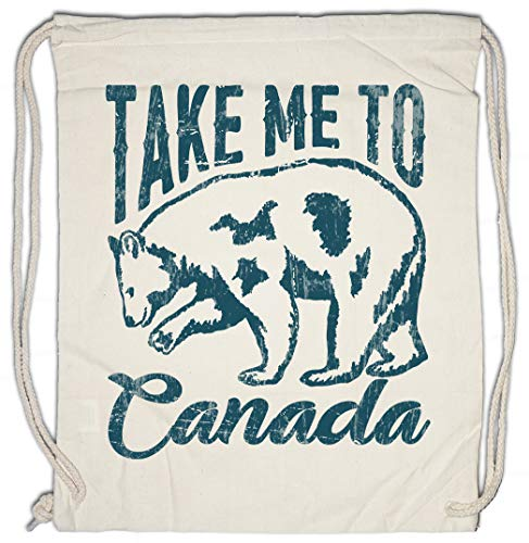 Take Me To Canada Drawstring Bag Gym Sack (Bag Drawstring Canada)
