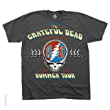 Liquid Blue Men's Summer Tour '87 T-Shirt, Grey, Large