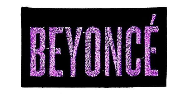 Beyonce música banda Heavy Metal Punk Rock Logo parche hierro en ...