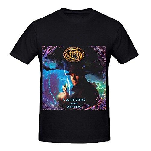 Fish Raingods With Zippos Soundtrack Mens O Neck Music Shirt Black