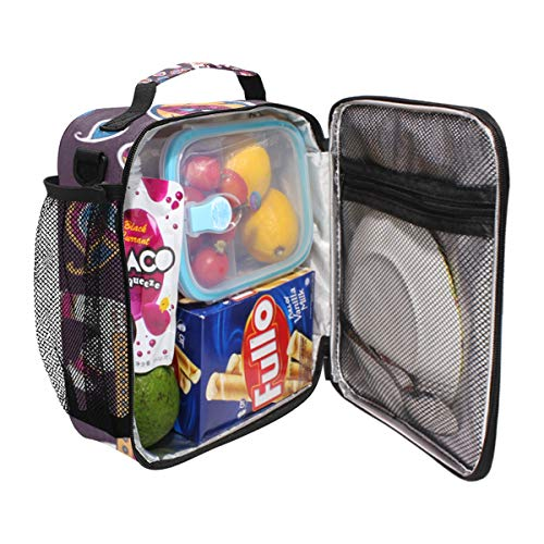 Durable Insulated Lunch Box,Indian Style Elephant Tote Reusable Cooler Bag LARGER Greater Storage Waterproof Grocery Bag to School Office Work ()