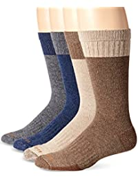 Mens Comfort and Durability Crew Sock 4 Pack