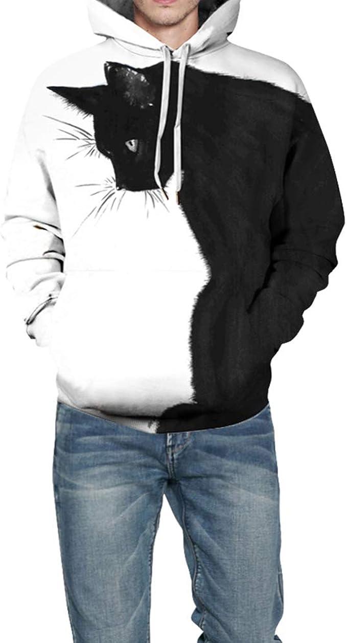 Fansu Unisex 3D Impreso Hoodies Hombre Mujer Sudaderas con Capucha ...