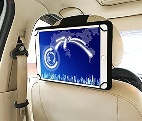 Amazon.com: RUISIKIOU 7-8 Inch Universal Car iPad Holder Mount, Portable iPad Holder Back Seat Holder Case in Car for iPad mini/mini 2/ mini 3/ mini 4/ ...