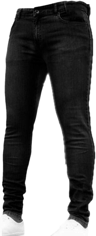 Vaqueros Simgahuva Pantalones Vaqueros Ajustados Rasgados Para Hombre Ropa Gdc Merca20 Com
