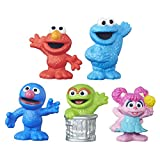 This collection of figures includes 5 favorite Sesame Street characters: Elmo, Cookie Monster, Grover, Oscar and Abby Cadabby. These cute figures are sized right for little hands to take along on big adventures and to create Sesame Street stories! Ma...