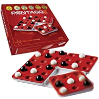 Mindtwister USA Pentago Strategy Game, Travel Edition