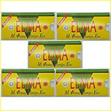 ELMA CLASSIC Greek Chewing Gum with Natural Chios Resin Gum Mastic and Mastiha Oil - 5 x 10-Packs