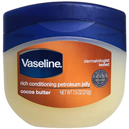 Vaseline Petroleum Jelly, Cocoa Butter, 7.5 oz -
