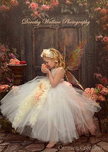 Gatsby Flower Girl Dress Blush by Carmen Creation